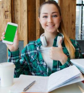Praticare l'italiano per stranieri con attività di lingua su smartphone